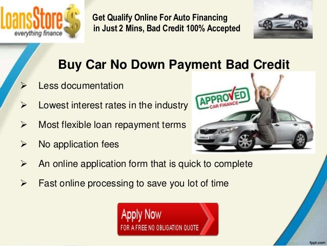 Get A Car With No Credit >> Buying A Car With No Money Down And Bad Credit