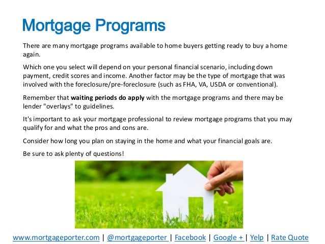 Buying a home again after a short sale or foreclosure for What type of loan do i need to buy land