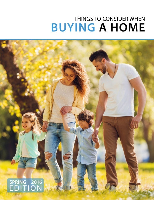 Home Buyer EGuide Things to Consider when Buying Home Spring …