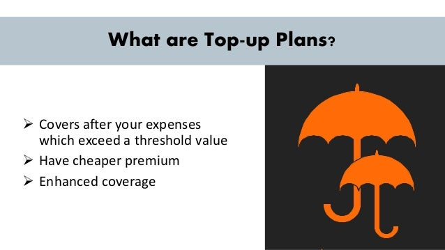 Buying a Top Up Plan - Health Insurance