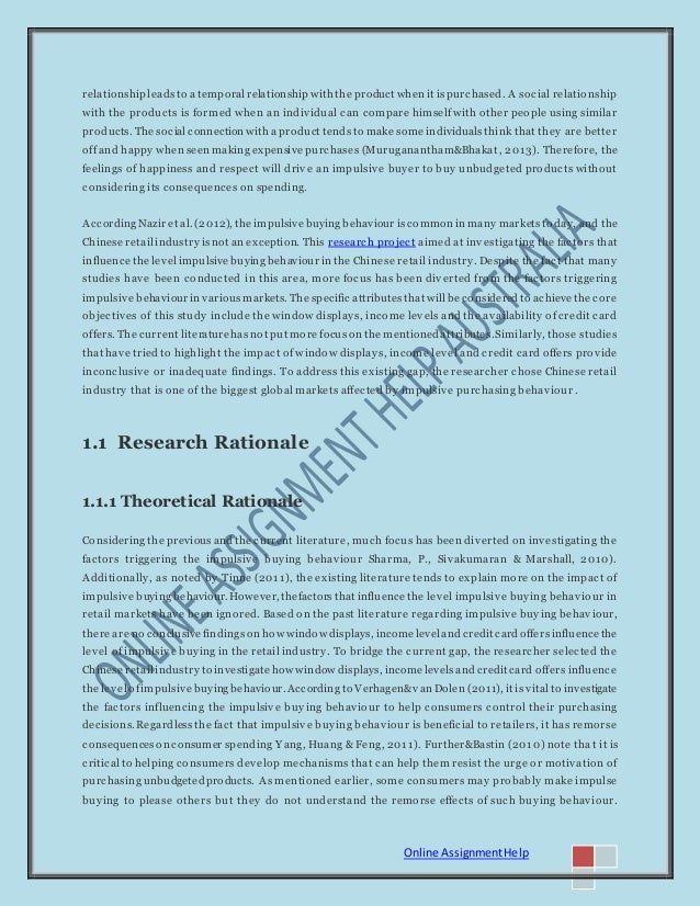 Dissertation on retail industry