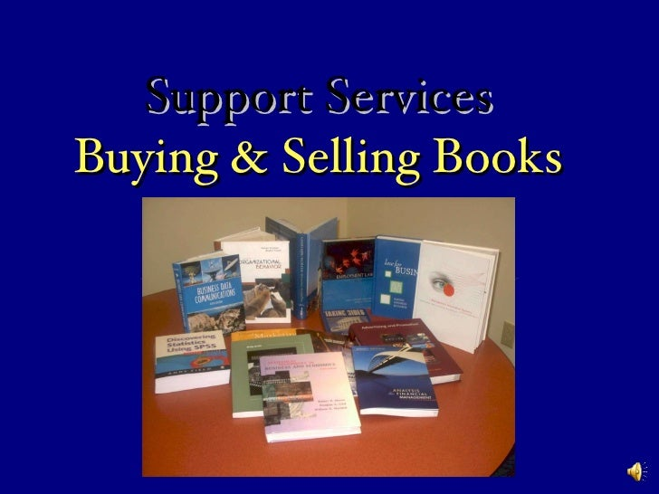 Support Services Buying & Selling Books