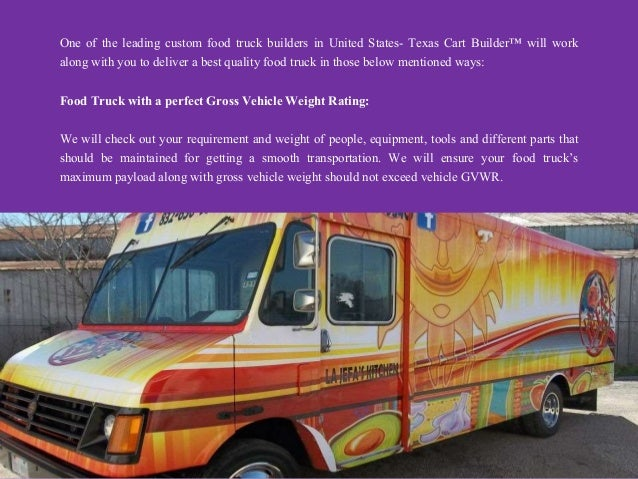 Food Truck Builders In Texas