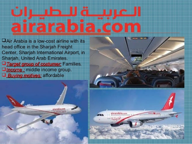 Buying motive marketing project - Air arabia sharjah office ...