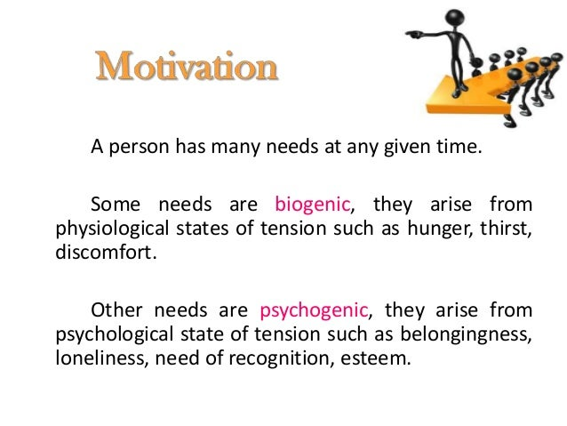 It involves changes in an individual behavior arising from experience. Most human behavior is learned.                    ...
