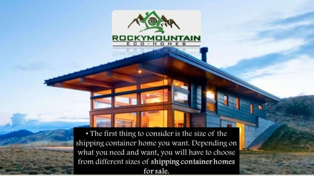 Buying Shipping Container Homes For Sale