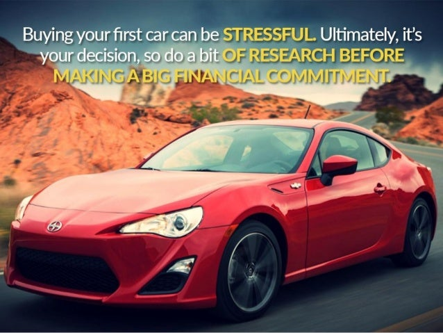Buying Your First Car Slide 2