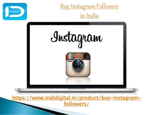 Find the best Buy Instagram followers in India
