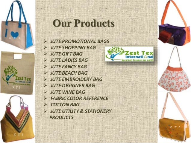 Buy jute bags online from -zesttex international