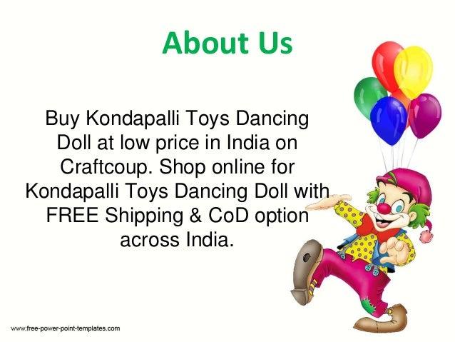 Buy Kondapalli Dancing Doll Kondapalli Toys Online Shopping Craft