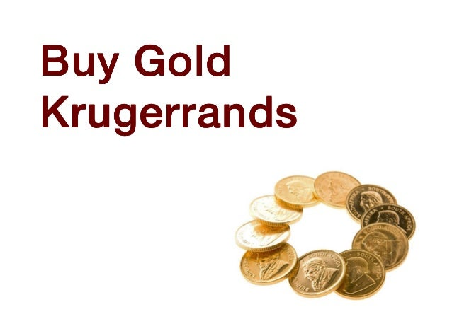 Buy Gold Krugerrands