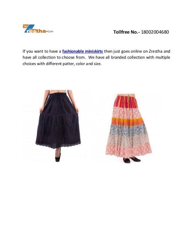 Buy Latest Designer Women Skirts Online  Slide 2