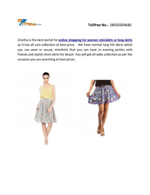 Buy Latest Designer Women Skirts Online  Slide 3