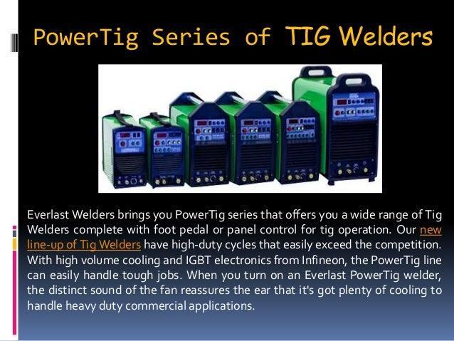 Buy Latest Series of Welding Equipments at Everlast Welders