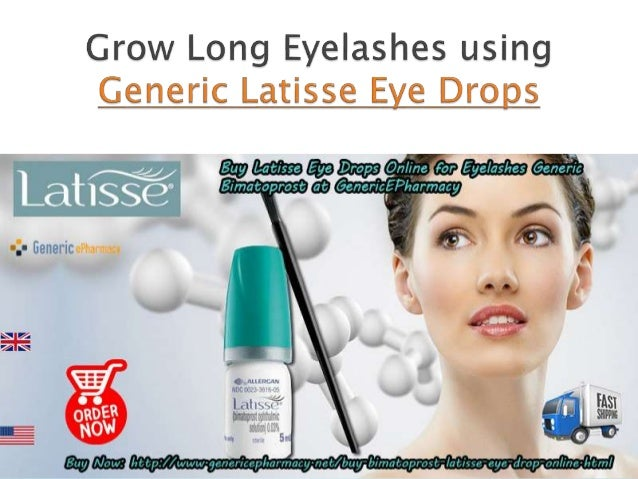  The Latisse eye drops for Eyelashes is an exquisite solution that is employed for the treatment of hypotrichosis in adul...