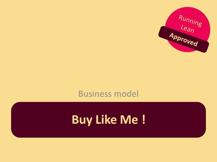 Business modelBuy Like Me !