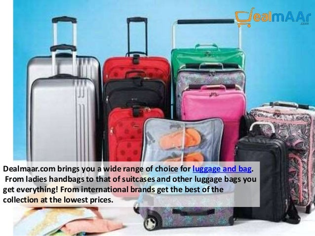 Buy luggage bags online in India at Dealmaar