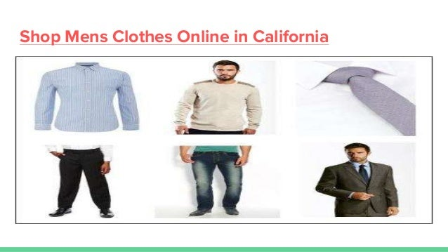 buy mens clothes online