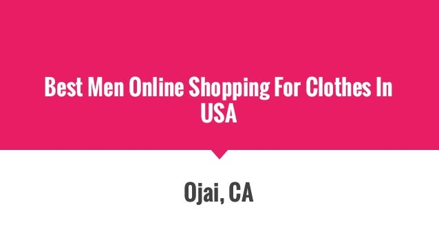 Best men online shopping for clothes in usa for Best online shops usa