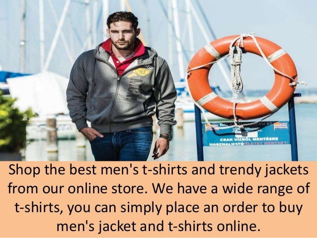 Buy men's clothing online
