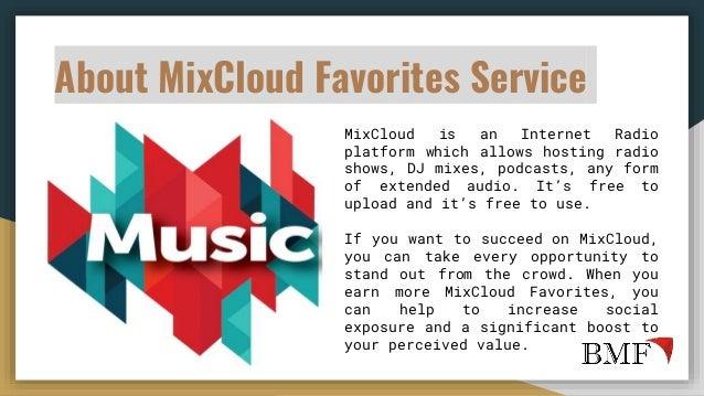 Buy MixCloud Favorites to Promote Your Music on MixCloud