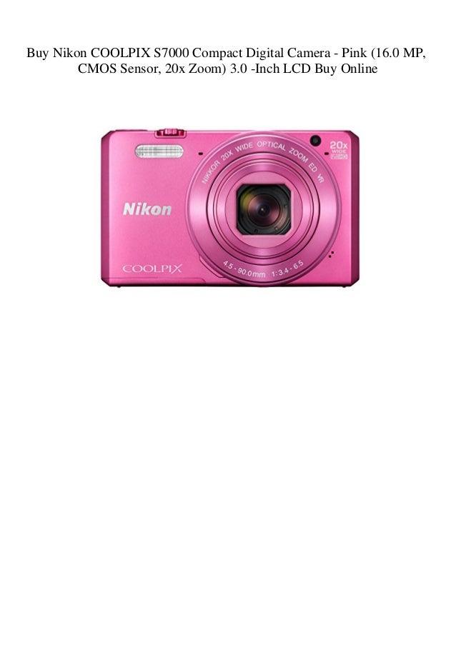 Buy Nikon Coolpix S7000 Compact Digital Camera Pink 16 0 Mp Cmos