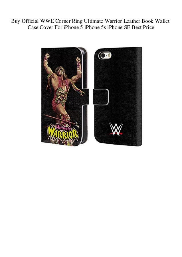 cover iphone 5 wwe