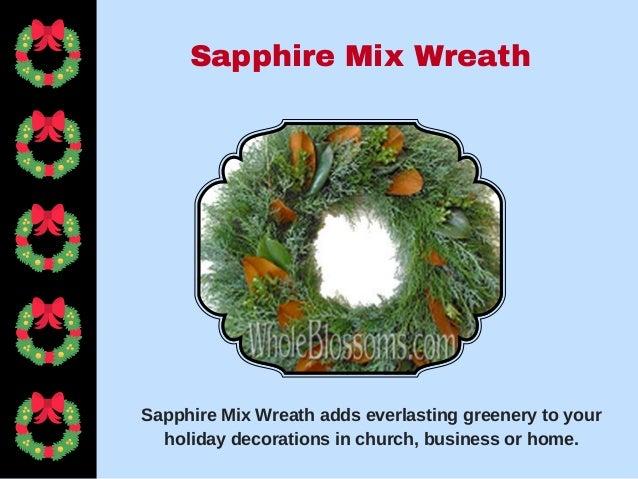 Order Fresh Christmas Wreath For Sale