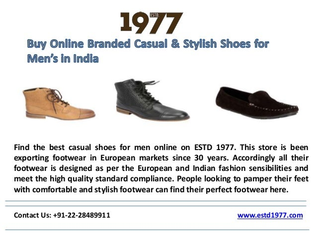 buy branded casual stylish shoes for men s in india