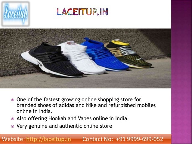 reputable site 538f0 f1f40 Buy online branded nike and adidas sport shoes in india lace