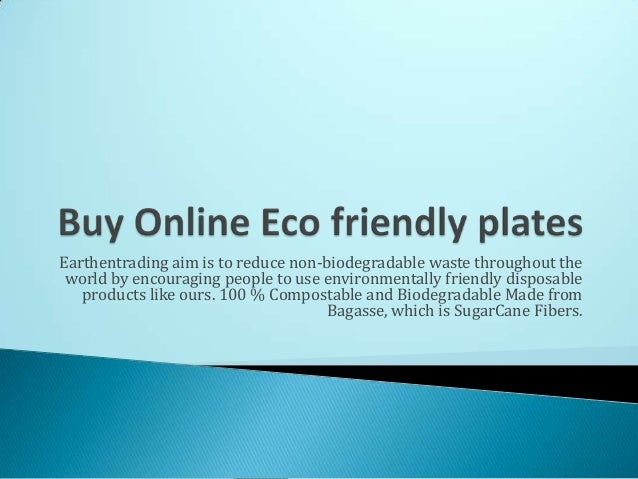 Buy online eco friendly plates and bowls