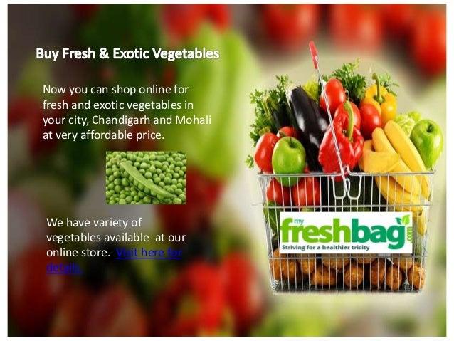 Shop vegetables online