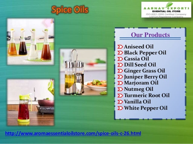 Buy Online Indian Spice Oils at Aromaessentialoilstore com