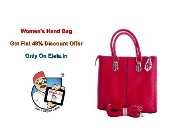 Buy online ladies hand bags at best rate only on elala.in