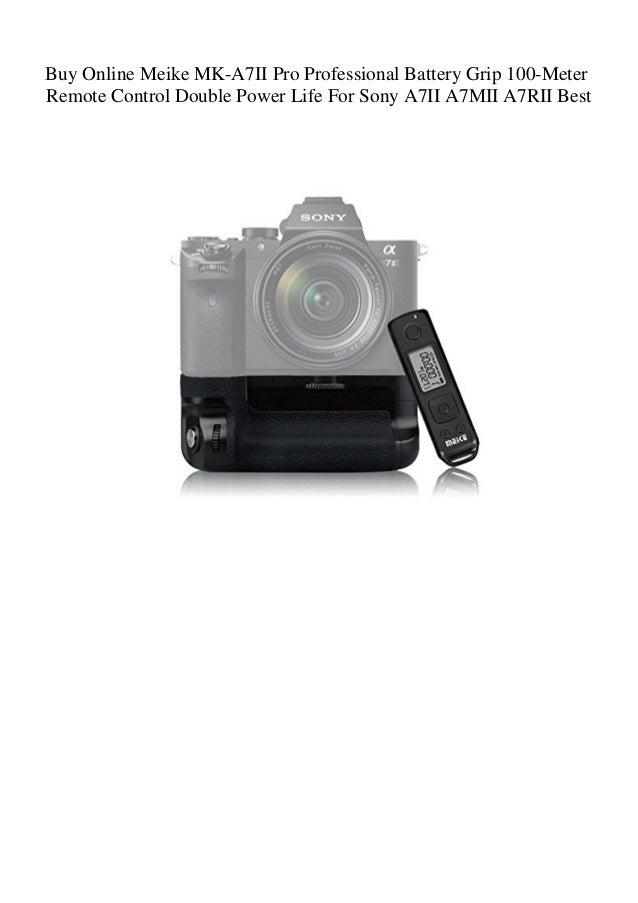 Buy Online Meike MK-A7II Pro Professional Battery Grip 100