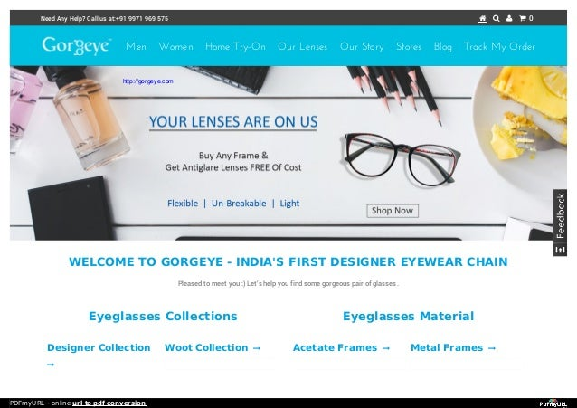 Buy online modern spectacles frames in india.