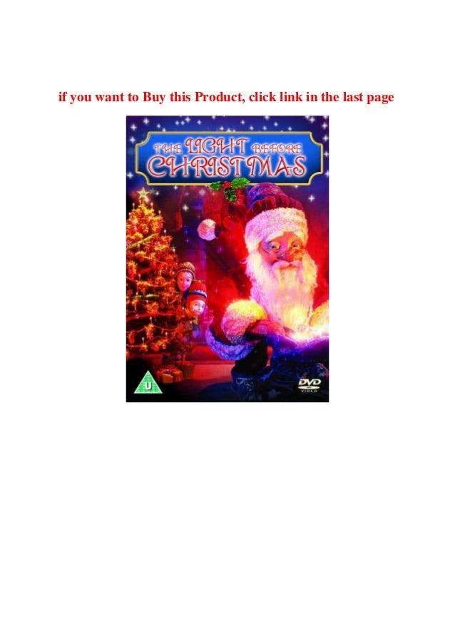 The Lights Before Christmas.Buy Online The Light Before Christmas Dvd 2007 Buy