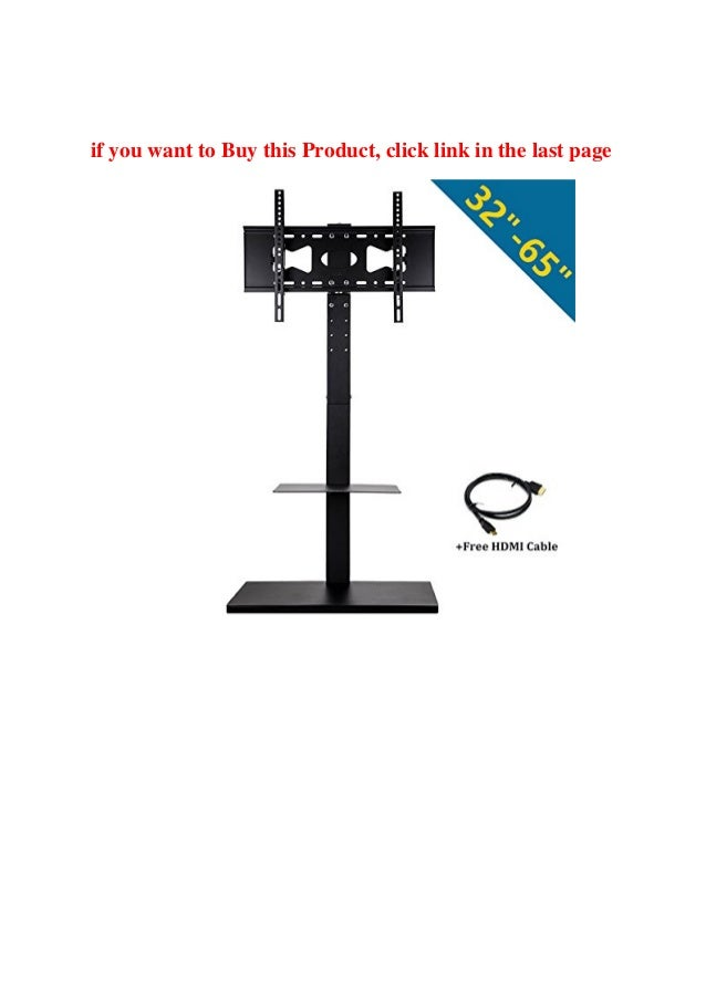 Buy Online UNHO Table Pedestal TV Stand with Brackets