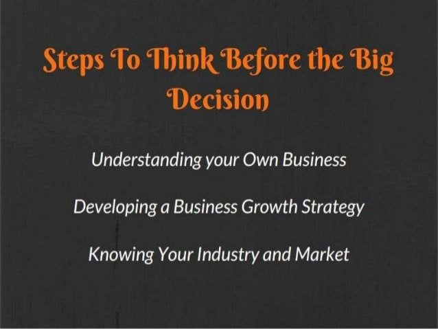 Buy or Build Your Business From Scratch