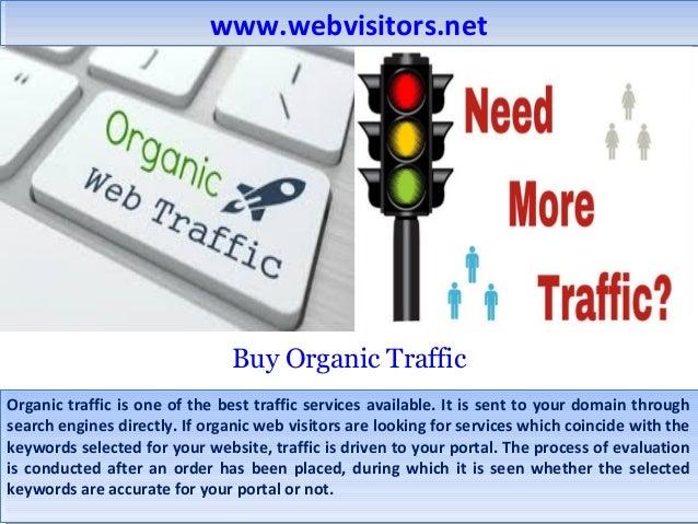 buy organic website traffic