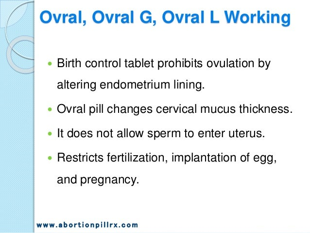 Ovral Birth Control Reviews