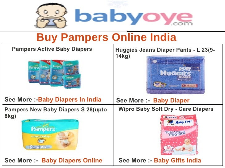 Buy Pampers Online India  Pampers Active Baby Diapers        Huggies Jeans Diaper Pants - L 23(9-                         ...
