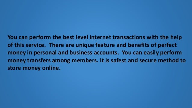 Buy perfectmoney with pay pal Slide 3