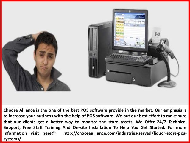 Buy POS System Software at Best Price- Choose Alliance