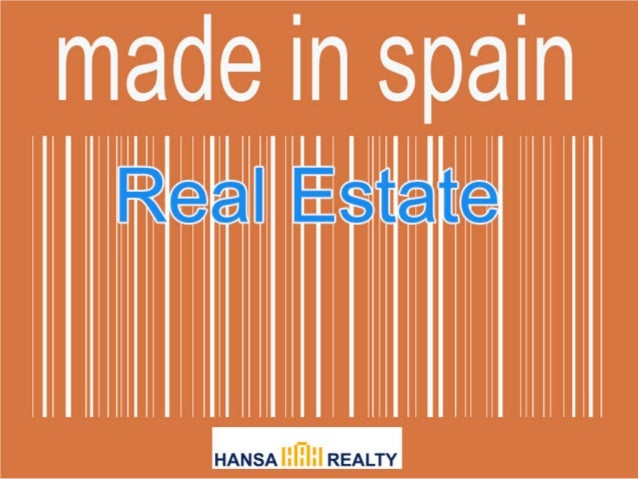 Real Estate Made in Spain