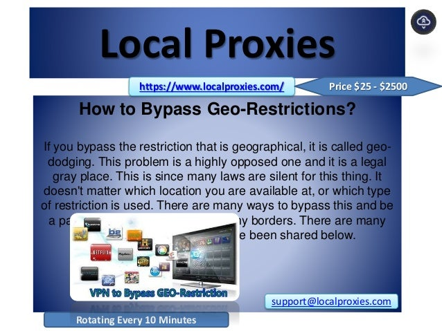 Local Proxies   Our Different Proxy Packages Will Cover All Your Need…