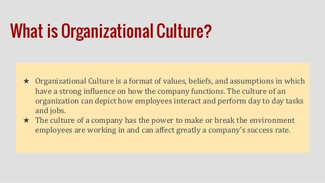 how organizational culture can affect employees