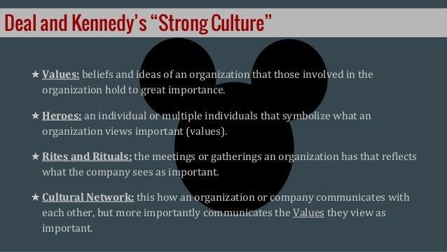Organizational Culture Walt Disney