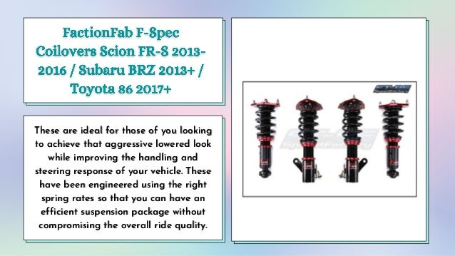 Buy Quality Coilovers and Suspension Brakes Products From SubieDepot.ca Slide 2