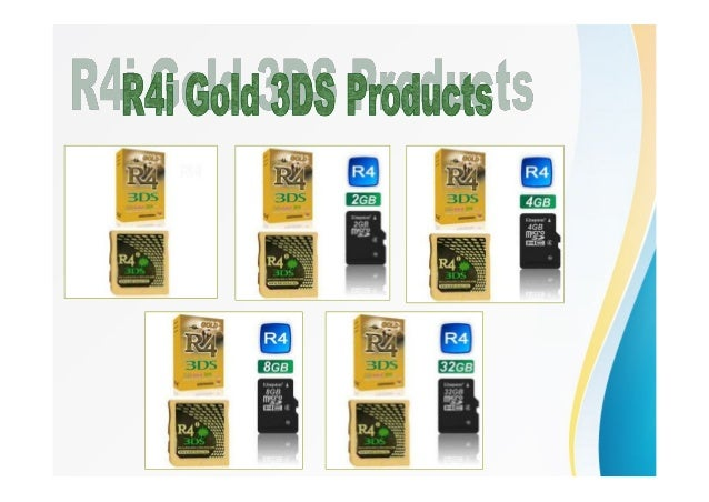 Buy R4 3 ds Gold Card